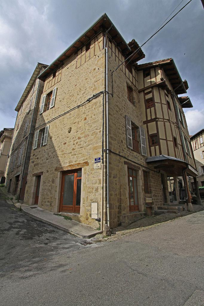 House, French Heritage monument to Eymoutiers.