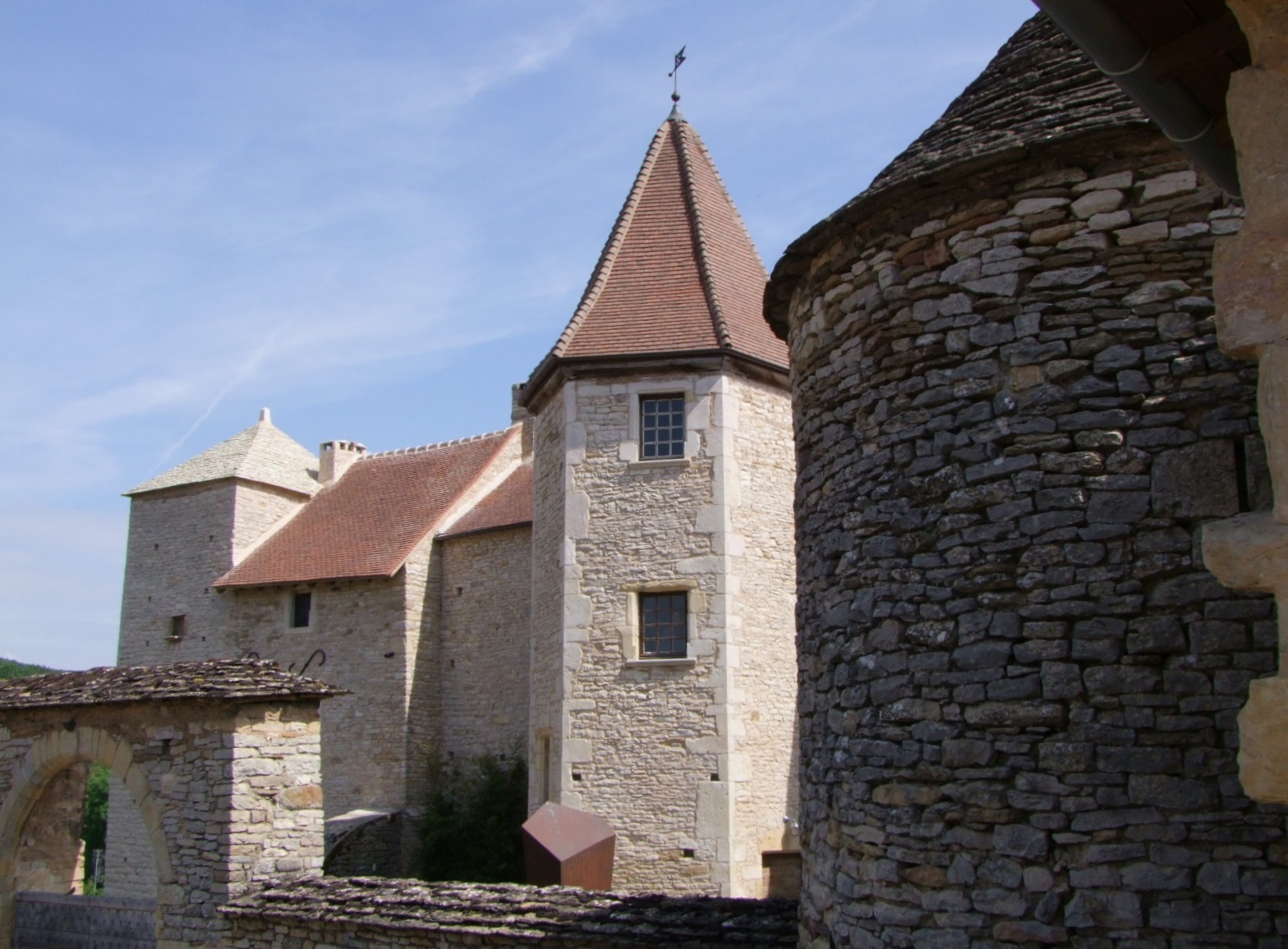 (Former) Priory, French Heritage monument to Blanot.
