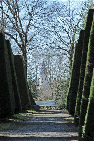 parc de la Teyssonnière à Buellas.