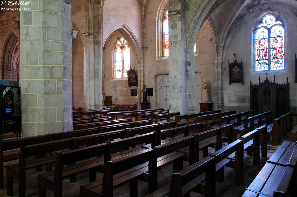 Church Saint-Aignan, French Heritage monument to Bonny sur loire.