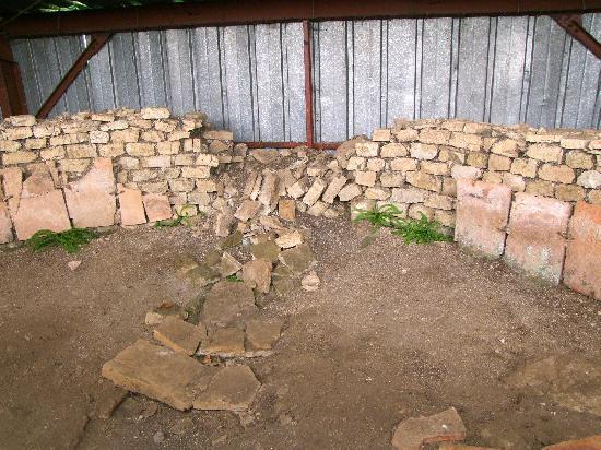Gallo-Roman sanctuary, French Heritage monument to Villards d heria.