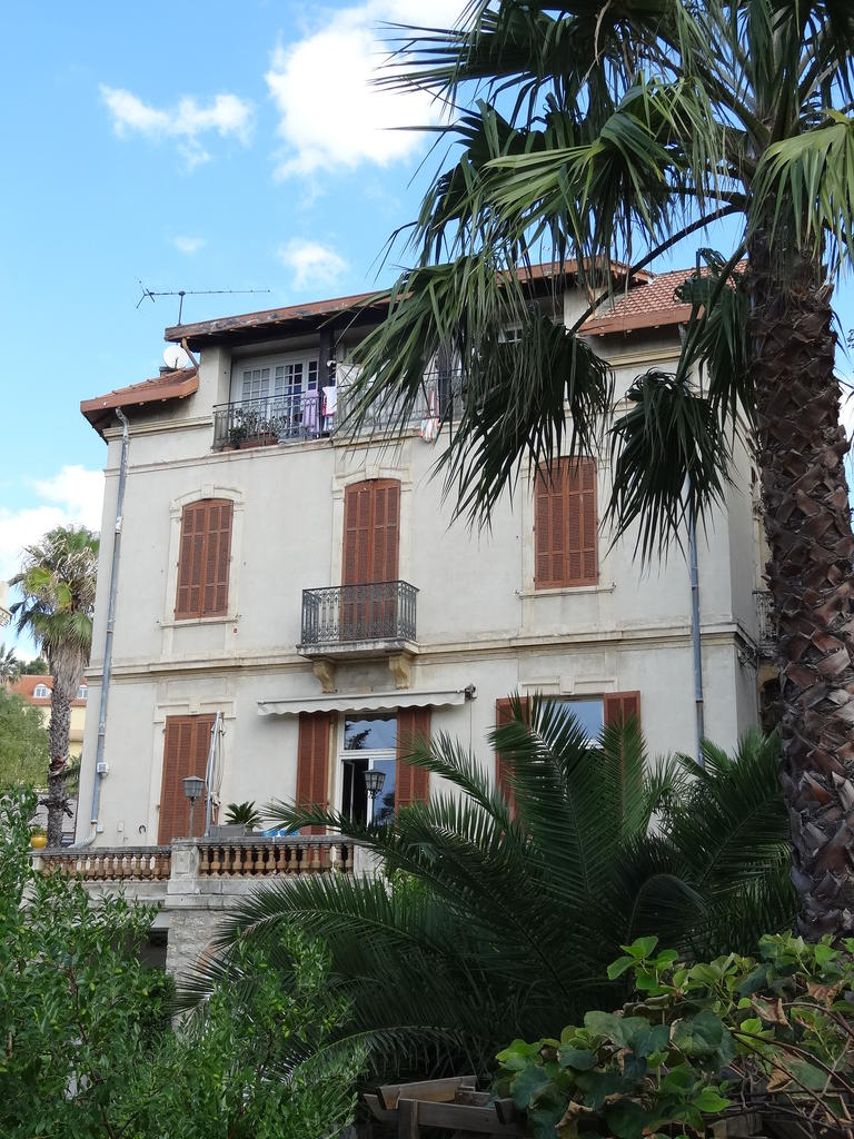 Resort home, called Villa of peace., French Heritage monument to Hyeres.