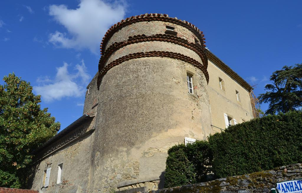Castle, French Heritage monument to Viviers les montagnes.