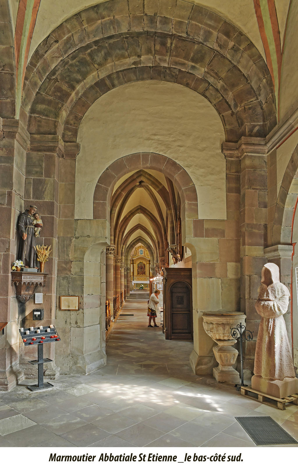 Benedictine Abbey to Marmoutier.