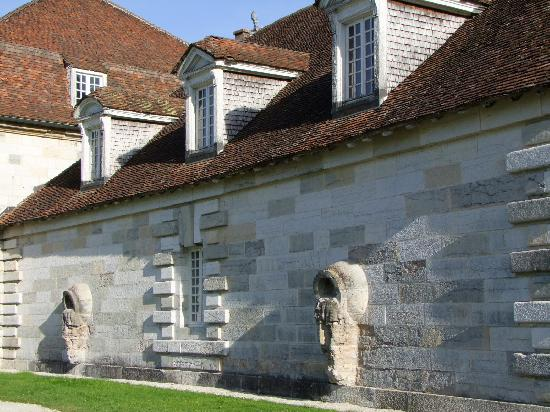 Former Royal Saltworks, currently Fondation Claude - Nicolas Ledoux, French Heritage monument to Arc et senans.
