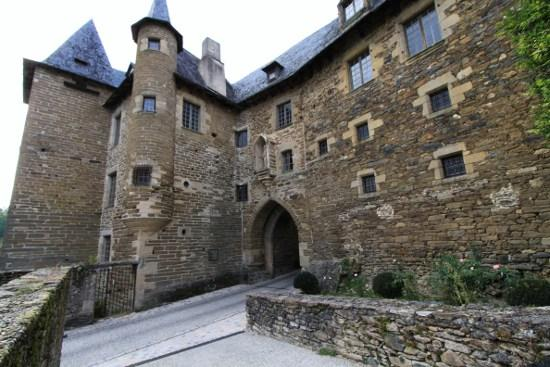 Castle Becharie (formerly House Barrachaude), French Heritage monument to Uzerche.