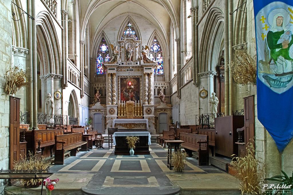 Eglise bernieres sur mer calvados - Office de tourisme bernieres sur mer ...