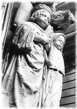 Sculpture Tours Cathedrale Saint-Gatien Tombeau enfants Charles VIII