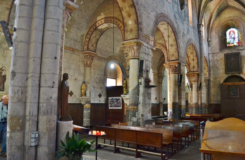 Eglise Saint-Limin (ou Saint-Martin) à Thuret.