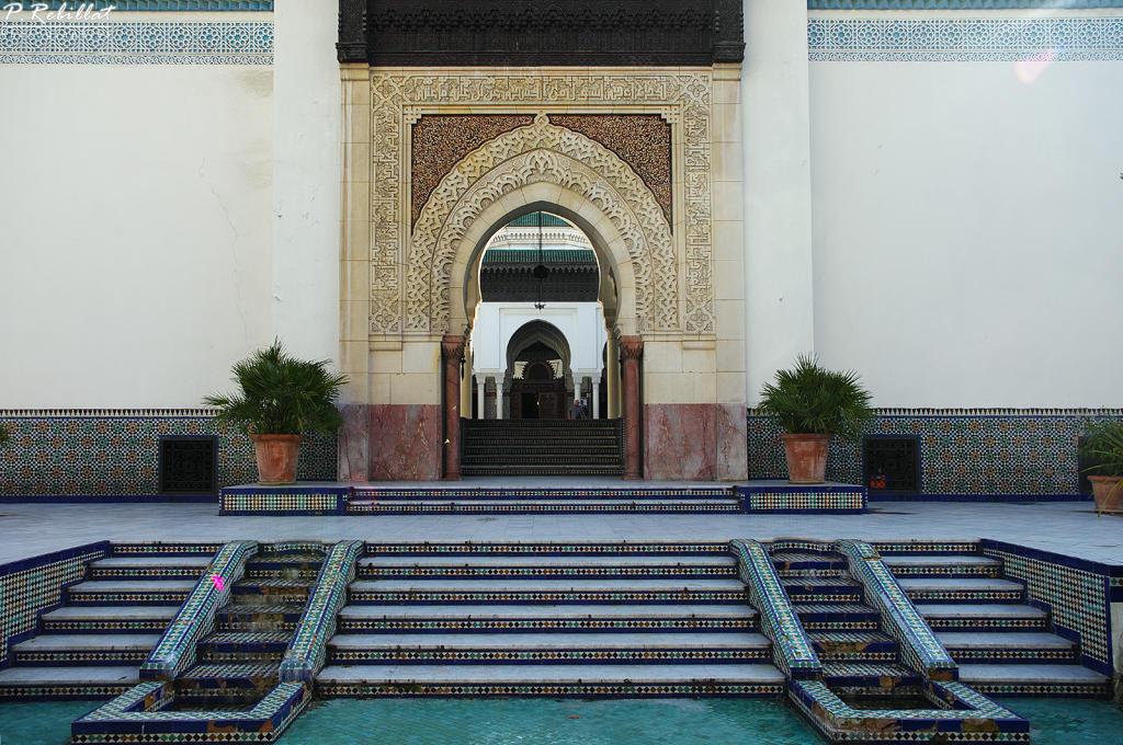 Mosquée de Paris et Institut musulman à Paris 5eme arrondissement.