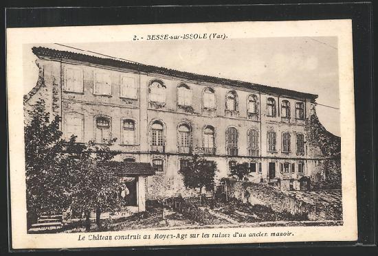 Château place du Château à Besse sur issole.