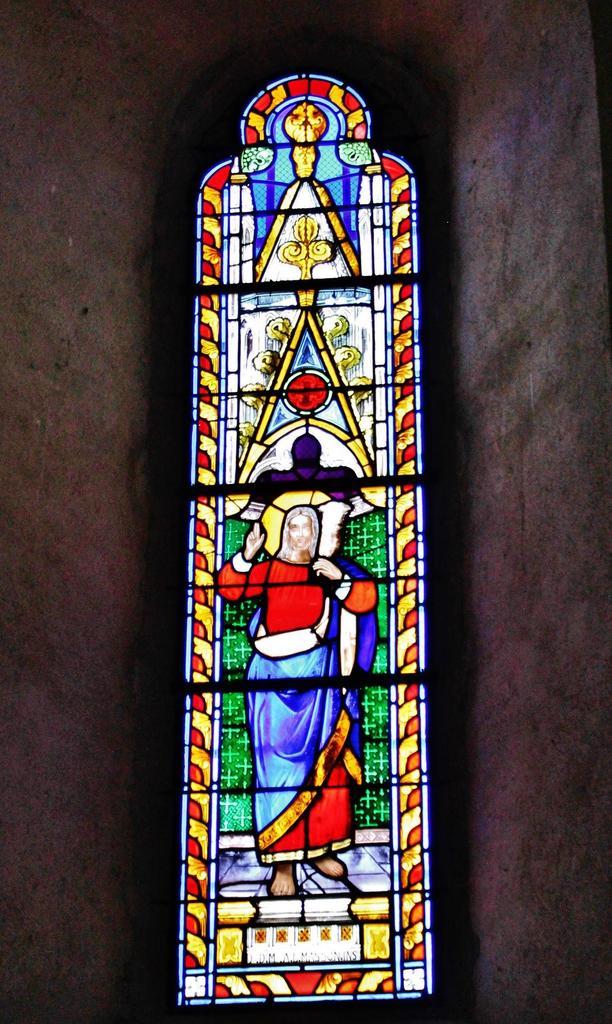 Eglise Saint-Mamert à Montel de gelat.