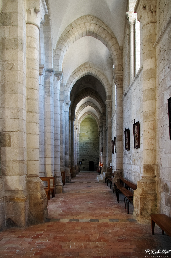 Church Abbey-Saint-Benoît, French Heritage monument to St benoit sur loire.