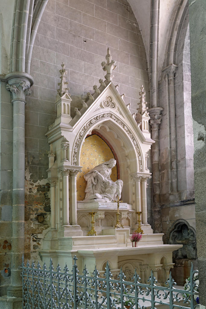 Former Cathedral Saint-Samson, French Heritage monument to Dol de bretagne.