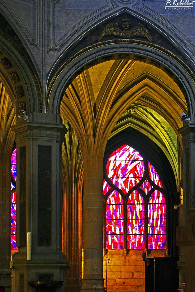 Eglise Saint-Séverin à Paris 5eme arrondissement.