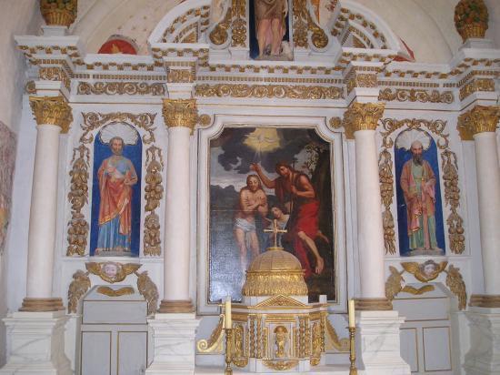 Eglise à Bonneveau.