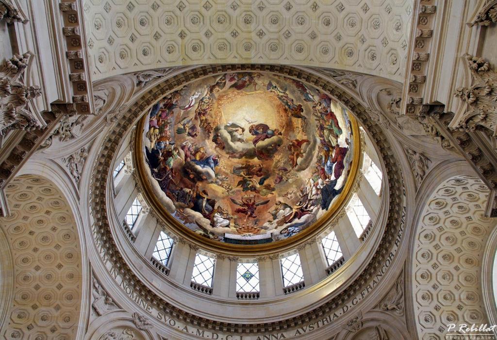 Abbaye du Val-de-Grâce (ancienne) à Paris 5eme arrondissement.