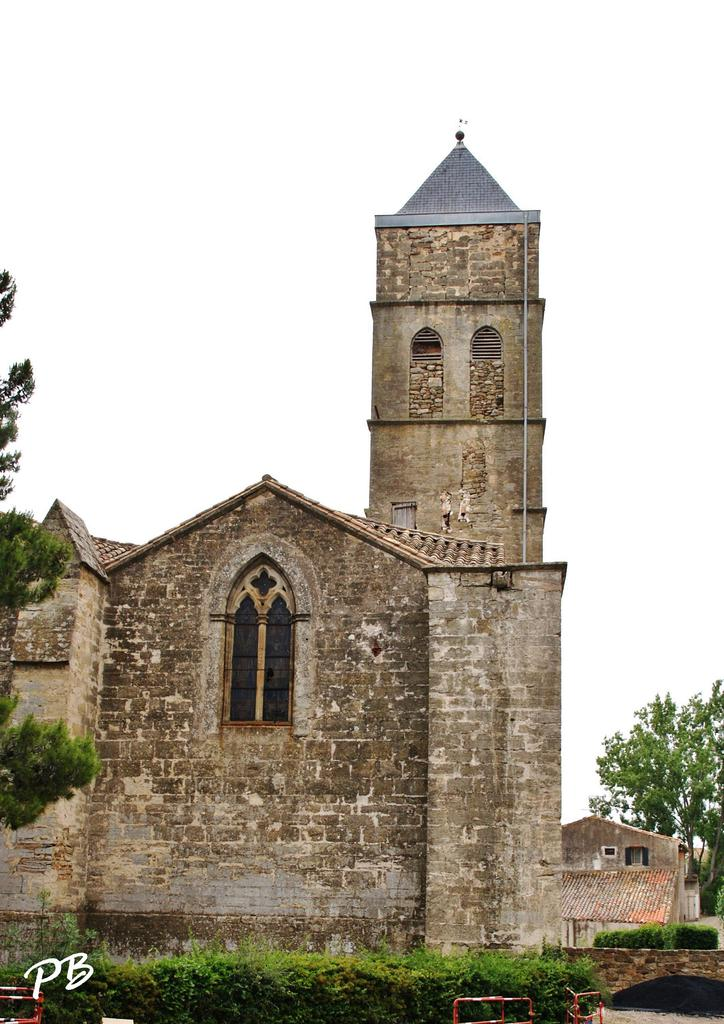 St. Lawrence parish church, French Heritage monument to Roujan.