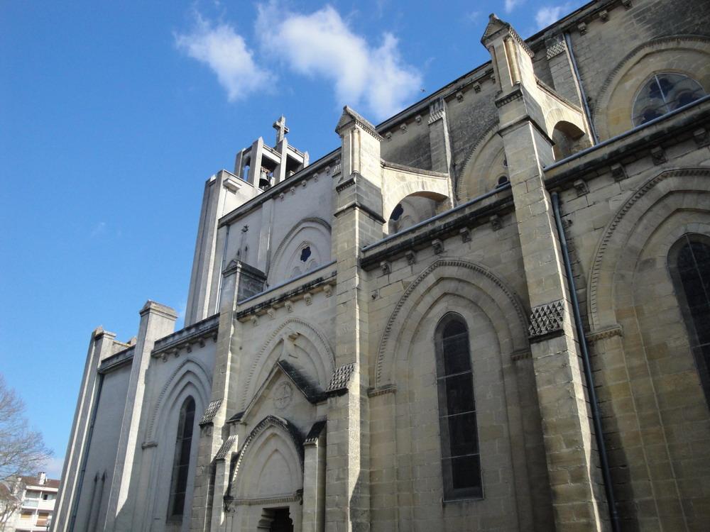 Eglise du Sacr�-Coeur � Agen.