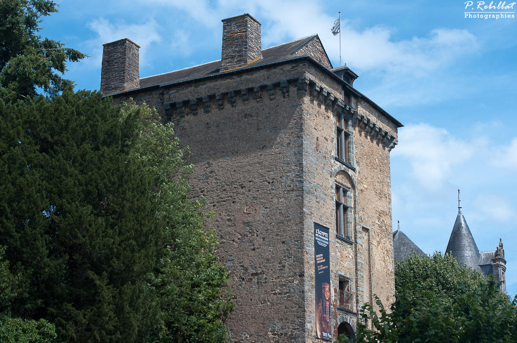 Castle, French Heritage monument to Chateaubriant.