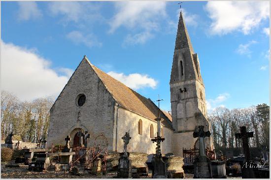 Eglise Notre-Dame de Quilly à Bretteville sur laize.