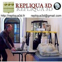 Repliqua 3D protection et diffusion du Patrimoine