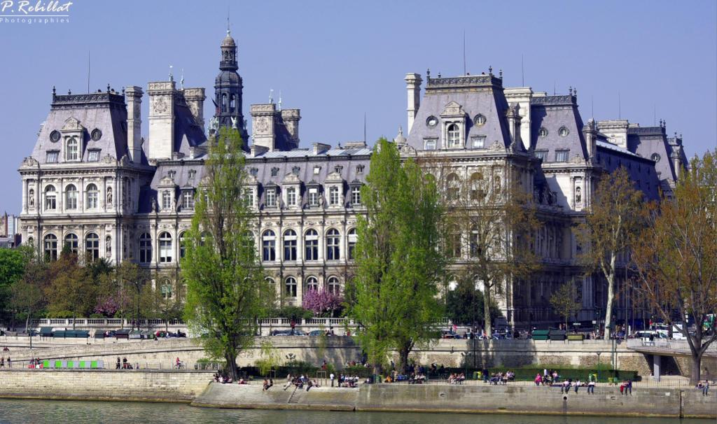 Hôtel de Ville à Paris 4eme arrondissement.