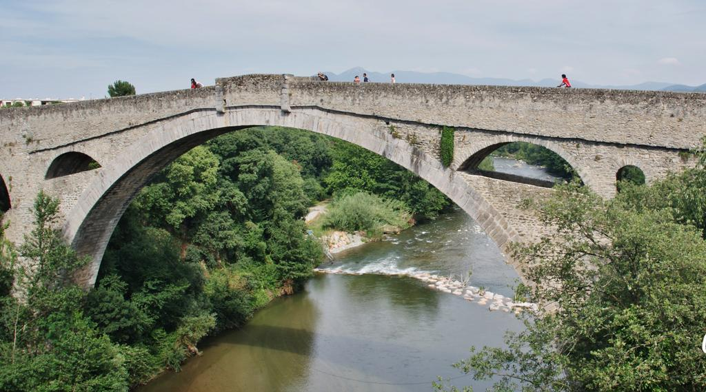 Bridge on the Tech, French Heritage monument to Ceret.