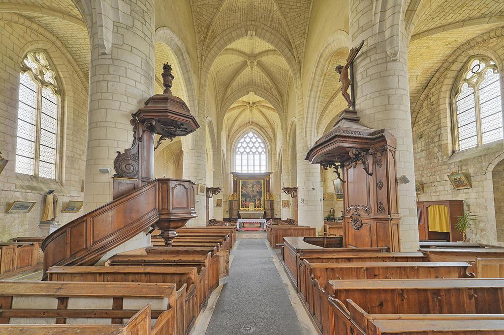 Eglise Saint-Martin à Esnandes.