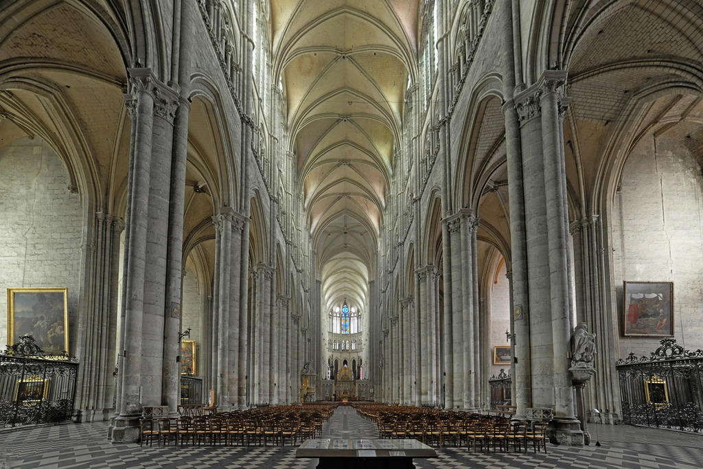 Notre Dame Cathedral, French Heritage monument to Amiens.