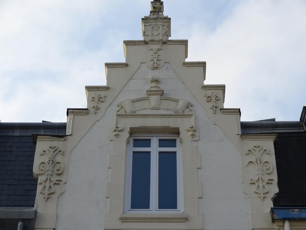 House Van Wyk then Passiflora, French Heritage monument to Wimereux.
