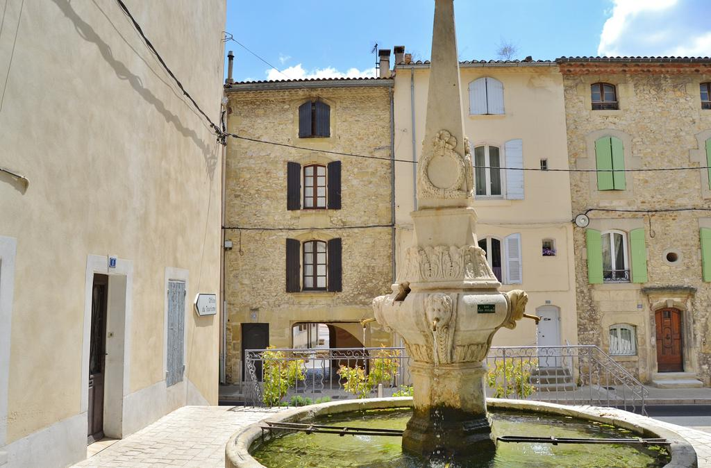 Public fountain, French Heritage monument to Eyguieres.
