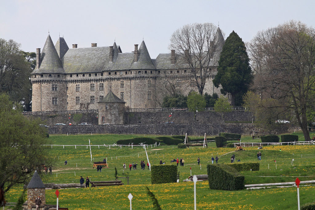 Field of the Haras de Pompadour, French Heritage monument to Arnac pompadour.