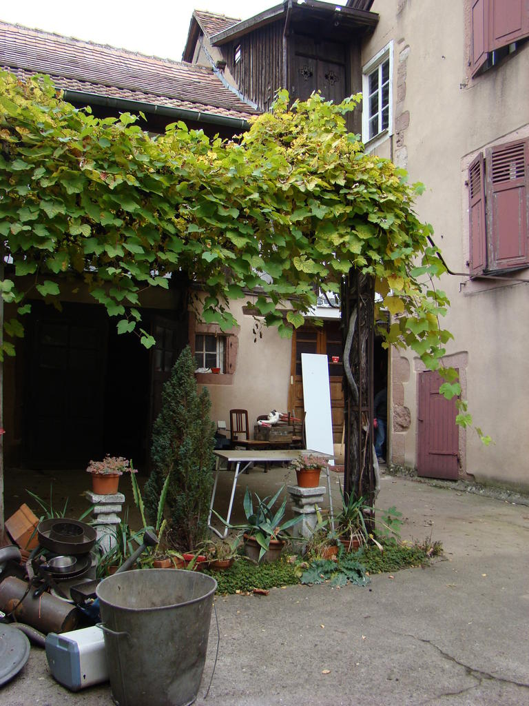 Maison 7 place de l'Abbé-Buchinger à Kientzheim.