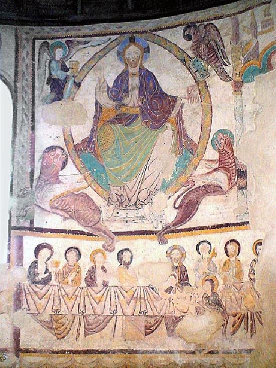 Eglise à St jacques des guerets.
