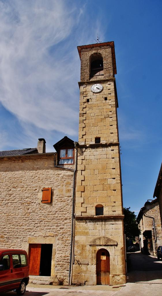 Belfry, French Heritage monument to Chanac.