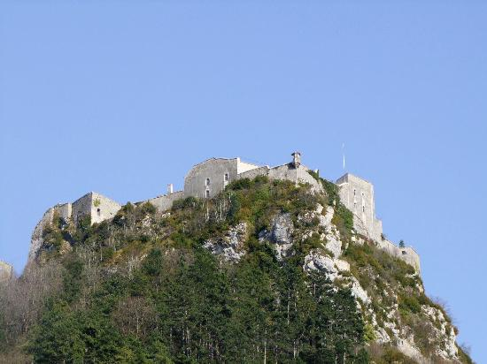 Fort Belin, French Heritage monument to Salins les bains.