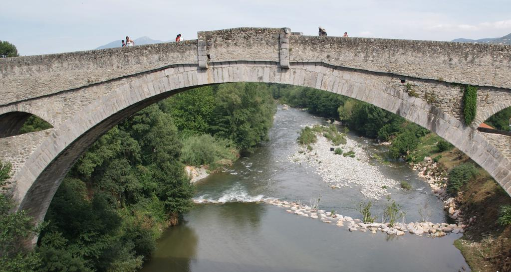 Pont sur le Tech à Ceret.