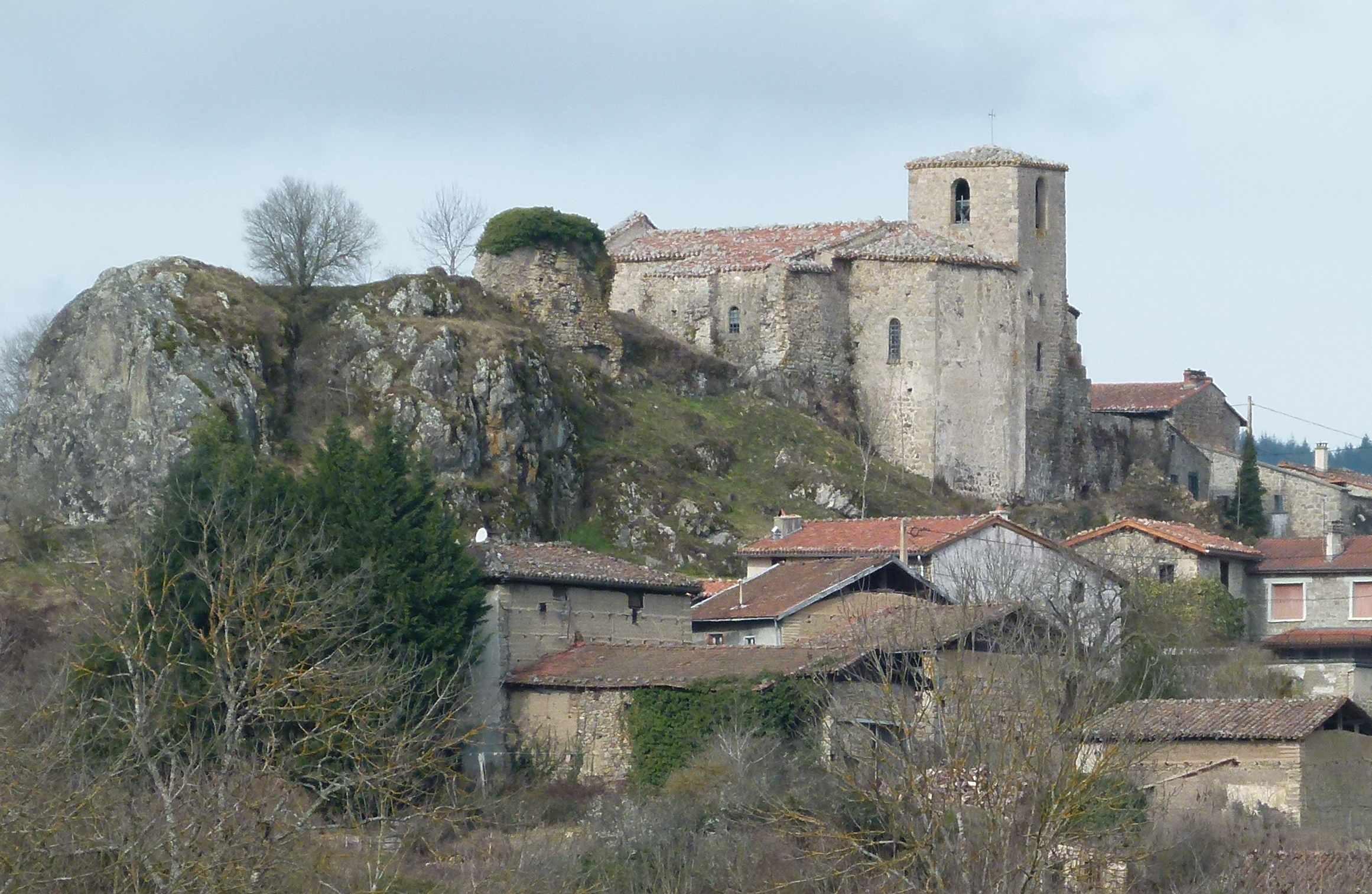 Eglise paroissiale, actuellement chapelle Saint-Médard-et-Saint-Loup à St laurent rochefort.
