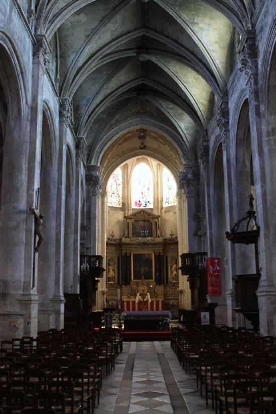 Cathedral Saint-Maclou, French Heritage monument to Pontoise.