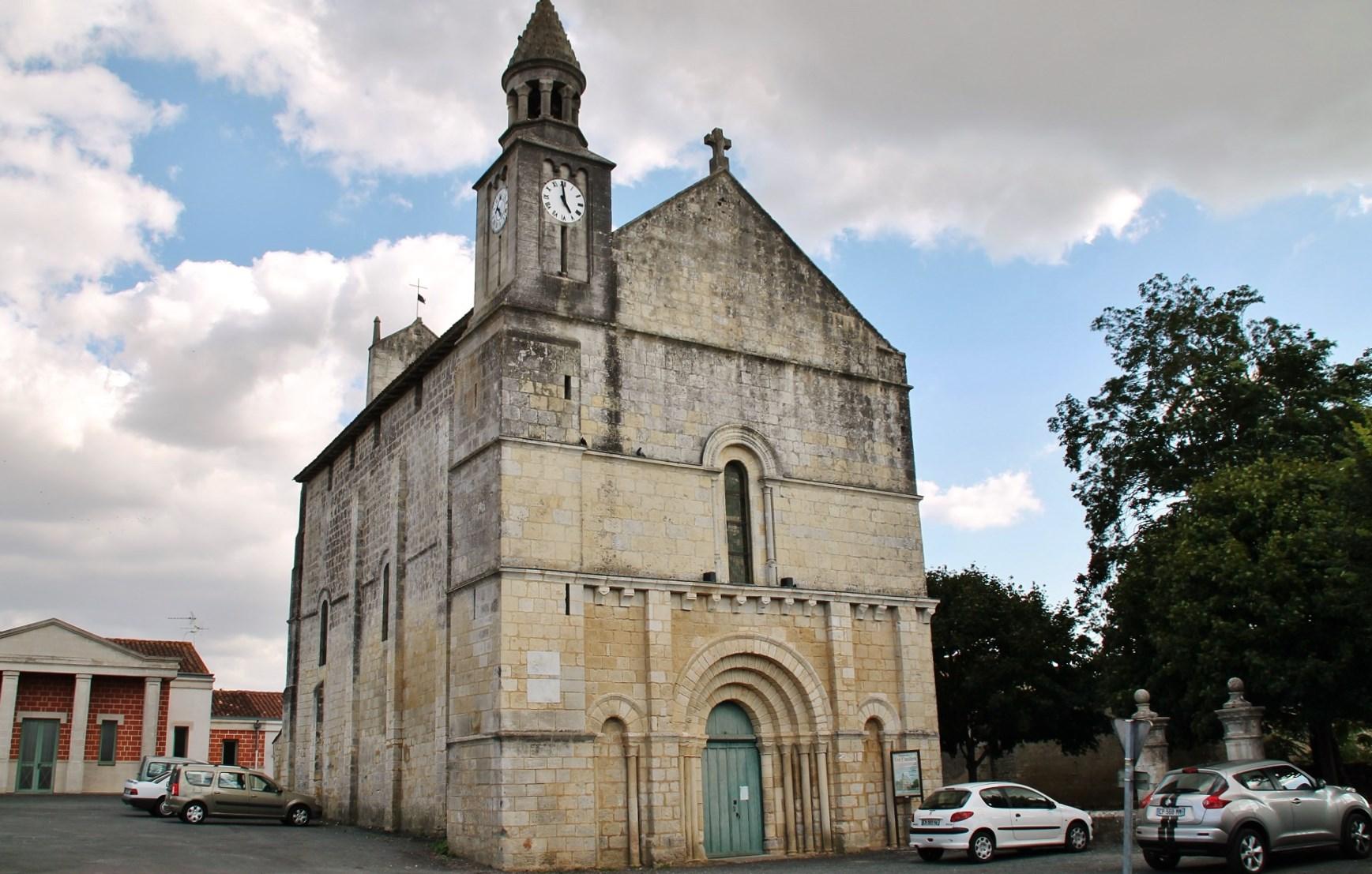 Eglise par pierre bastien