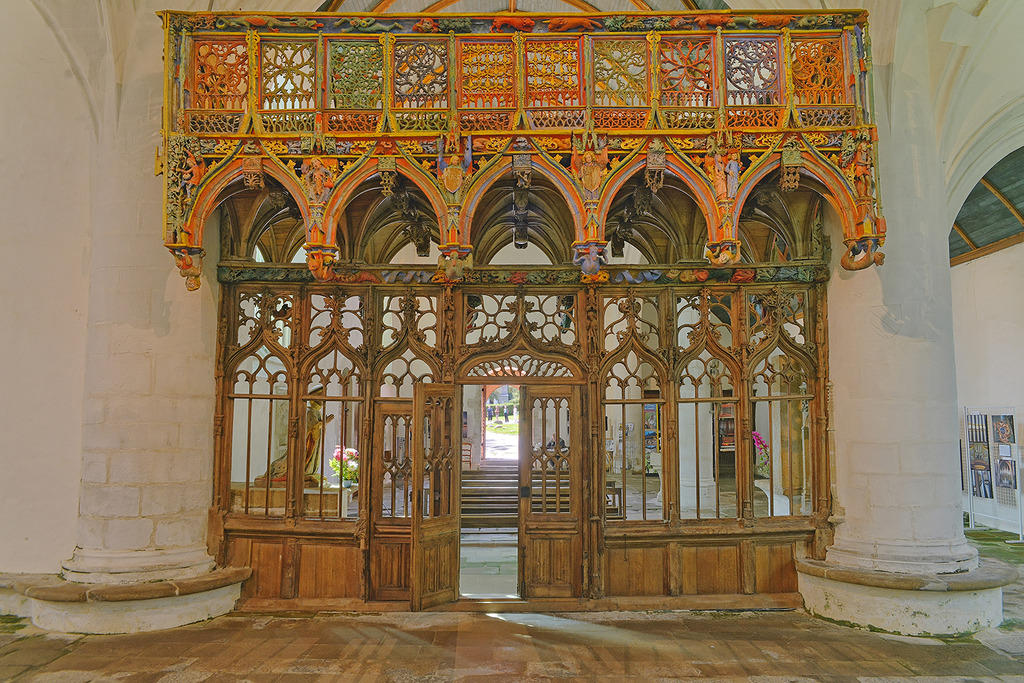 Chapelle Saint-Fiacre à Le faouet.