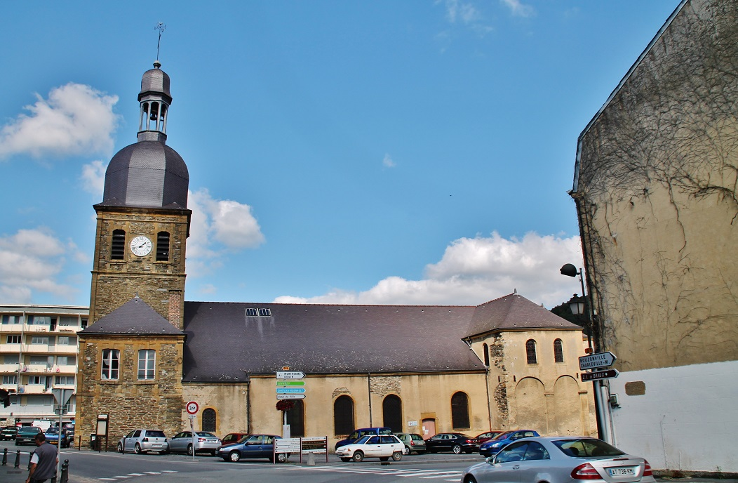 Church of Braux, French Heritage monument to Bogny sur meuse.
