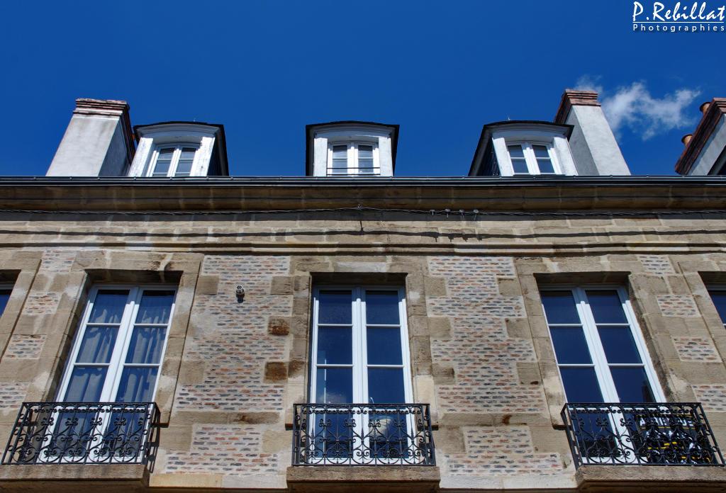 Maison 28 rue Michel-de-l'Hôpital à Moulins.