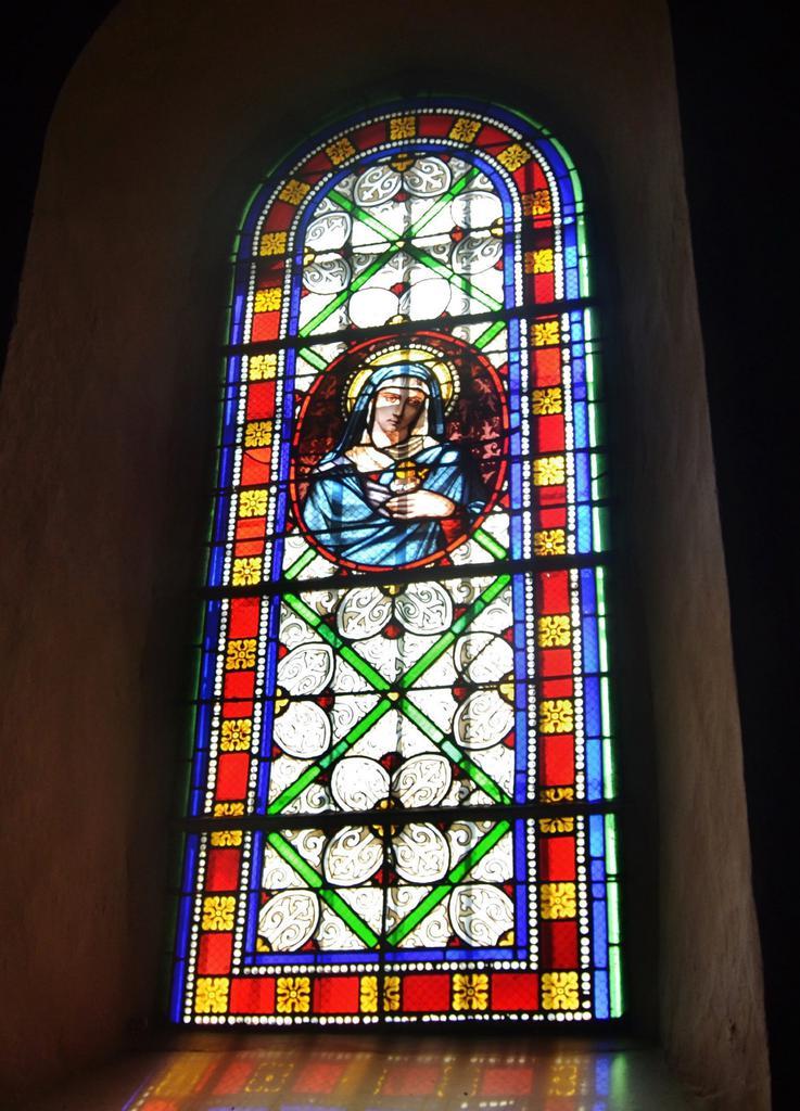 Eglise Saint-Cyprien à Mendionde.