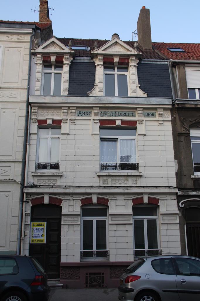 Maison 31, 33 rue Cazin à Boulogne-sur-Mer à Boulogne sur mer.