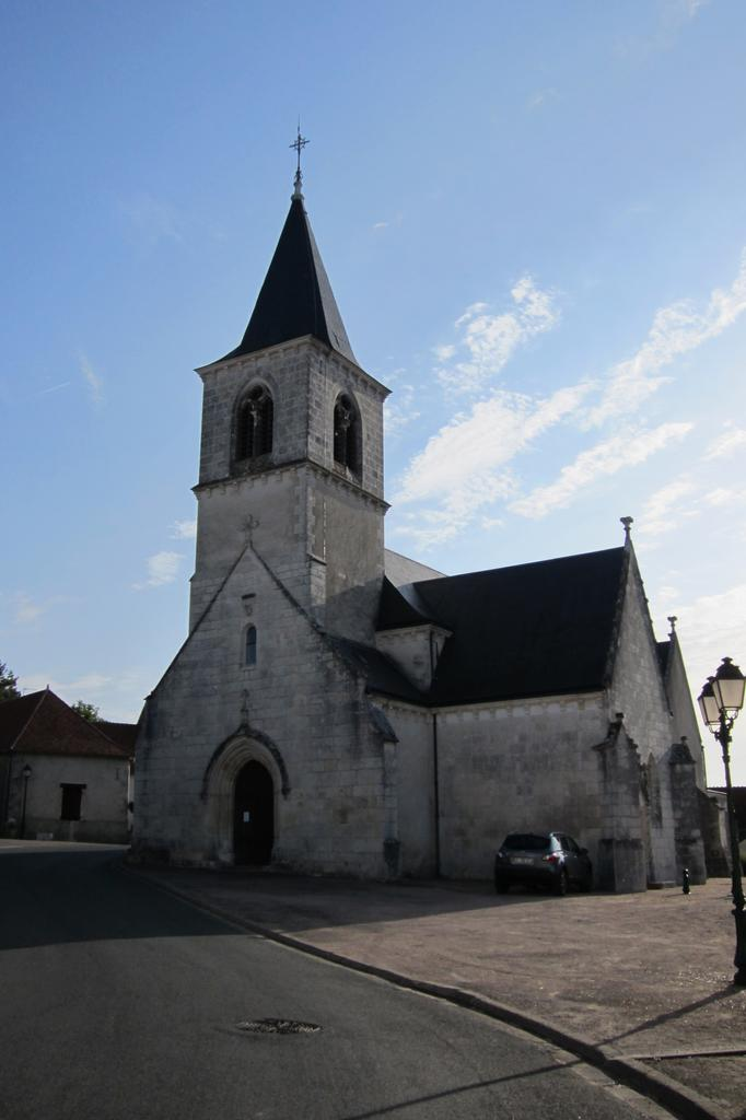 église paroissiale Saint-Martin à Concremiers.