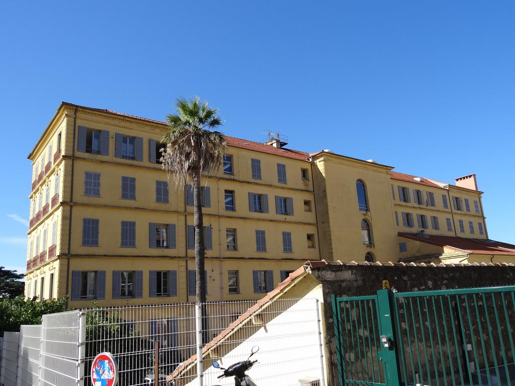 Travellers Hotel said the Palms Hotel., French Heritage monument to Hyeres.