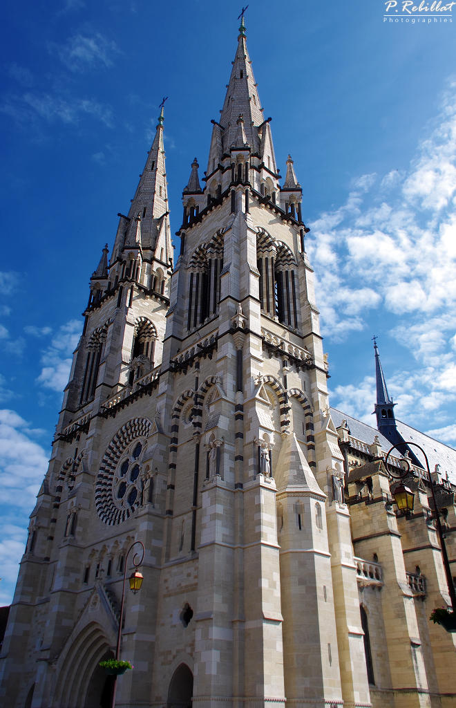 Notre Dame Cathedral, French Heritage monument to Moulins.