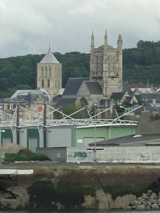 Eglise Saint-Etienne à Fecamp.